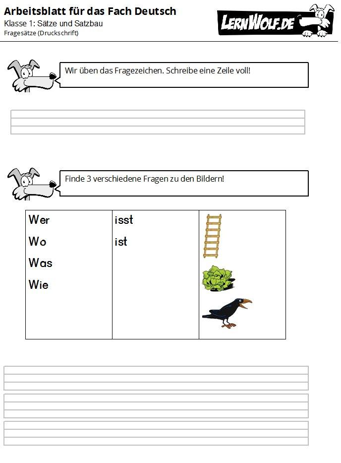 220bungen deutsch klasse 1 kostenlos zum download lernwolfde