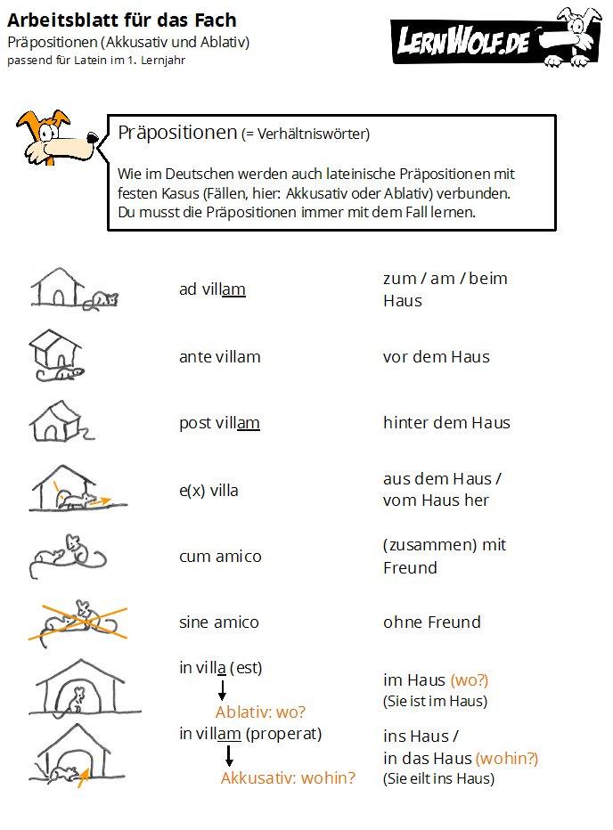 Übungen Latein kostenlos zum Download - lernwolf.de