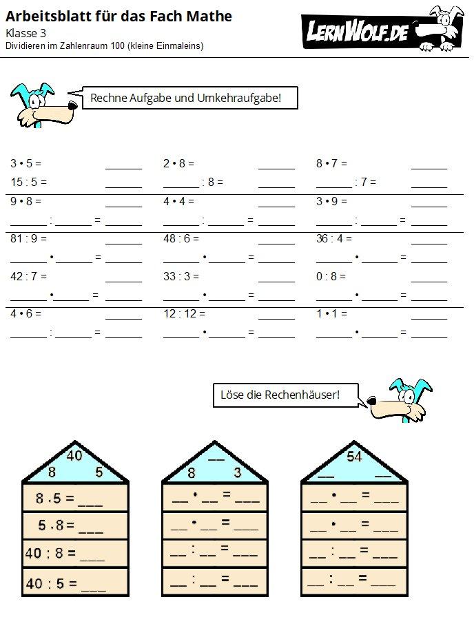 multiplizieren matheaufgaben klasse 2 einmaleins zum ausdrucken. Black Bedroom Furniture Sets. Home Design Ideas