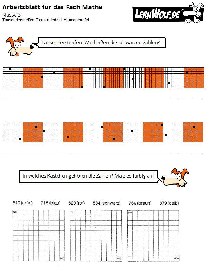 übungen Mathe Klasse 3 Kostenlos Zum Download Lernwolfde