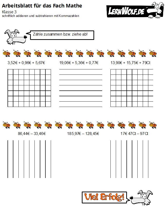 Arbeitsblatt Runden Grundschule : Übungen mathe klasse kostenlos zum download lernwolf