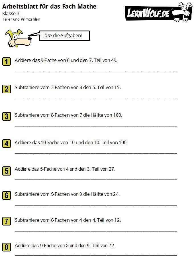 220bungen mathe klasse 3 kostenlos zum download lernwolfde