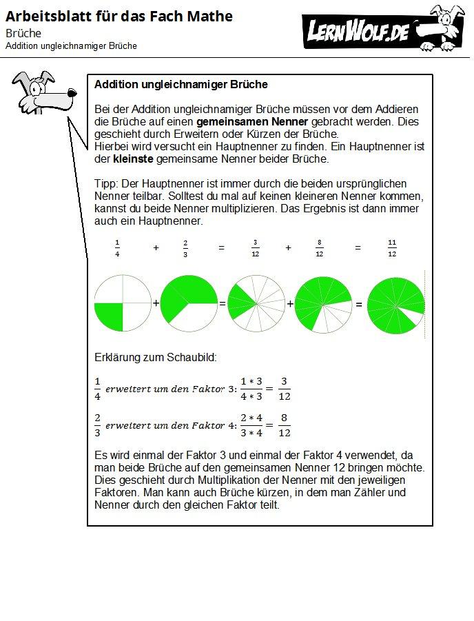 Brüche - lernwolf.de